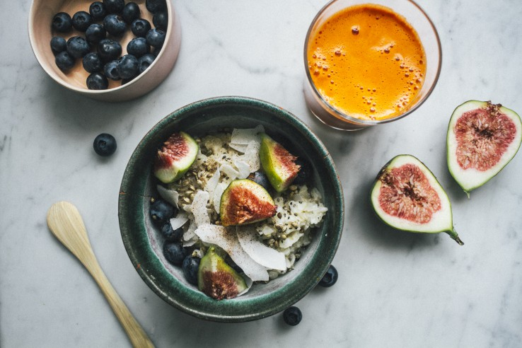 Coconut Rice porridge