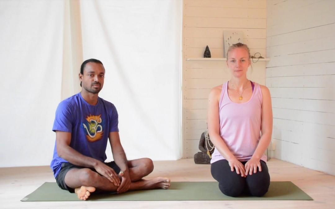 Pranayama with retention