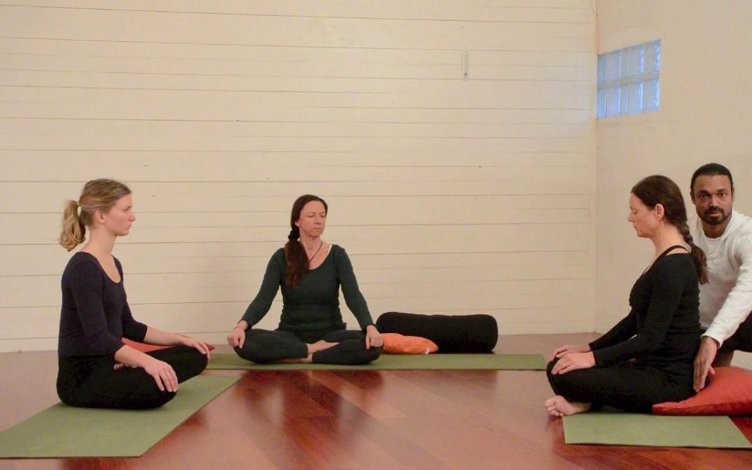 Preparation for meditation