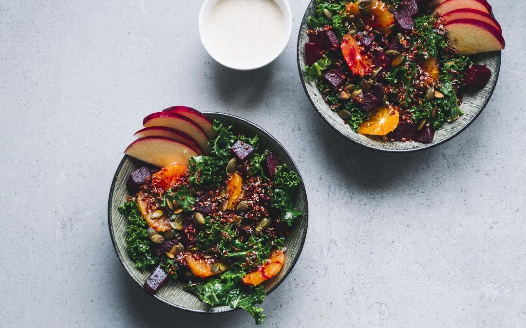 Quinoa green salad