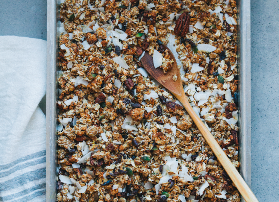 Orange & Coconut Granola