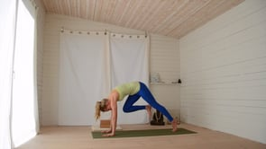 Hatha yoga with backbends