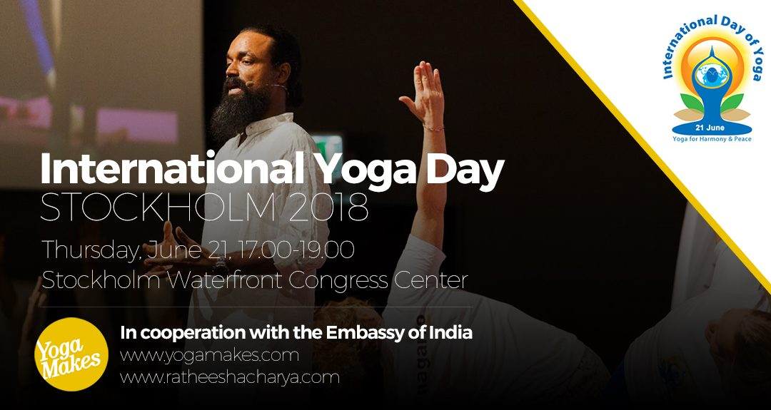 International Yoga Day Stockholm 2018